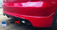 Honda Civic BK-R rear splitter lip  01 - 05  type R EP1, 2, 3, 4 with diffuser