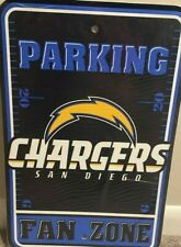 San Diego Chargers FIELD DESIGN 12  x 18 Parking Sign ! FREE SHIPPING !