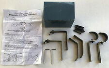 Set of two Curtain Rod / pole Brackets to suit 29mm diameter rod. New in box.