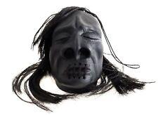 SHRUNKEN HEAD  Haunted House Car Mirror Scary Hair School Cane Gag Halloween
