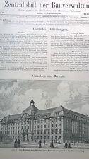 1907 79 Berlin Charlottenburg / Gymnasium Dortmund / FRiedrich Schneider Mainz