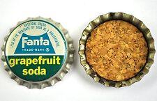 vintage Coca-Cola Fanta Pamplemousse capsules USA SODA BOUTEILLE casquette