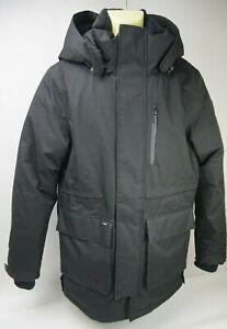 Nobis Martin Windproof & Waterproof Hooded Down Men's Black Parka Size Medium