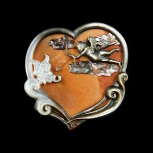 Carved Cupid MOP Pearl CAB GG001144