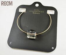 Zara Clear Cube choker necklace