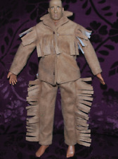 """Vestito da Cowboy per 1/6 SCALA 12"""" Action Figure di guerra civile Western. SideShow CUSTER"""