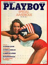 ▬► PLAYBOY 32 (1976) SPÉCIAL AMÉRIQUE_JAYNE MARIE MANSFELD NUE_NUDE GIRLS