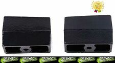 """2001-2010 Chevrolet GMC 2500HD Zone 4"""" 2.3° SuspensionLift Blocks with 9/16"""" Pin"""