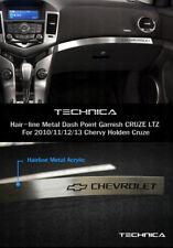Dashboard Garnish Hairline Metal Chevy Logo For CHEVROLET 2010-2014 Cruze