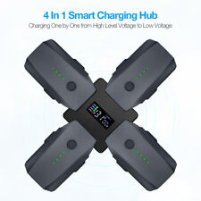 4-In-1 Rapid Battery Charger Multi Charging Hub For Dji Mavic Pro w/ Lcd Display