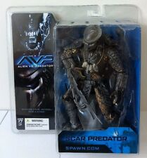 "AVP ALIEN VS PREDATOR SCAR PREDATOR 7"" ACTION FIGURE MCFARLANE MOVIE MANIACS"