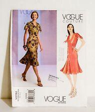 Vogue Couture 2782 Misses/Misses Petite Lined Summer Dress18 20 22 uncut