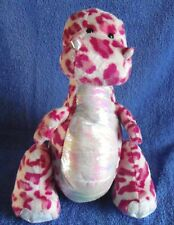 Spotty pink dinosaur by GANZ (# HM339) - 22cm - plush
