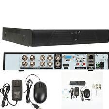 8CH HD 720P 1080P AHD DVR + 1CH Audio Digital Video Cam for CCTV Security Camera