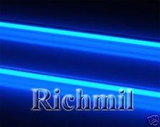 Dual 12 pulgadas Azul Neon cátodo Luces / Interior Neons * uk