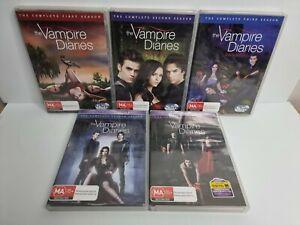 The Vampire Diaries DVD Season 1,2,3,4,5 Region 4
