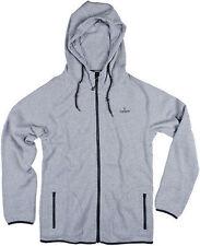 Sombrio Cartel Dawn Patrol Hoodie Full Zipp Grey Size XXL New