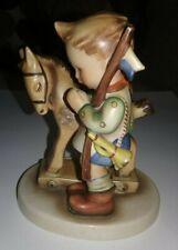 Vintage Prayer Before Battle Hummel Figurine #20 Tmk2 Boy Praying With Toy Horse