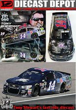 TONY STEWART 2016 FOREVER A RACER/ ALWAYS A CHAMPION 1/24 Action In stock