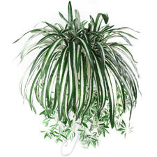 GN- ARTIFICIAL SPIDER PLANT CHLOROPHYTUM COMOSUM FAUX GREENERY HOME DECOR KAWAII