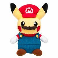 Pokemon Center Original stuffed Mario Pikachu