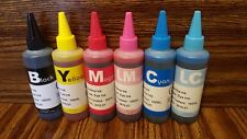 BULK INK REFILL BOTTLES CIS CISS FOR EPSON R260 R280 R380 RX580 RX595 RX680 50