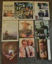 Very Large CLINT EASTWOOD Clippings Collection