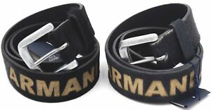 ARMANI JEANS WOMAN BELT 100% PONY MADE IN ITALY CASUAL FERE TIME CODE G611831