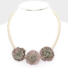 MARNI H&M Bloom Flower Decor Collar Necklace