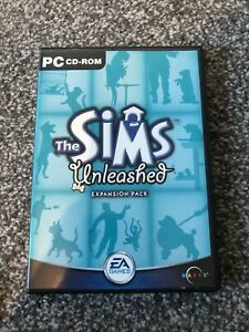 THE SIMS Unleashed Expansion Pack For Windows PC DVD-Rom Game Free Post