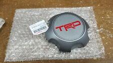 Toyota TRD Matte Gray Center Cap Tacoma 4Runner FJ Cruiser PTR20-35111-GR