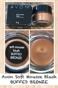 Avon Soft Mousse Blush BUFFED BRONZE
