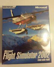 PC Game - Microsoft Flight Simulator 2002 - Come nella realtà - Boxato