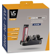 VS Sassoon for Men Vsm7420a Lithiam Pro Face and Body Trimmer Red by Myer