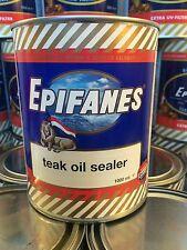 Epifanes Teak Oil Sealer 1000ml TOS.1 for Maintenance of Teak Decks etc