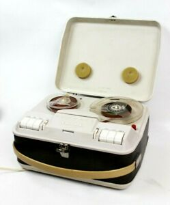Vintage GRUNDIG TK14 Valve Portable Sound Recorder and Player [6127]