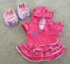 New ListingBuild A Bear Girls Pink Dress and Glitter Shoes