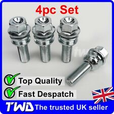 4x WHEEL BOLTS FOR VW TOUAREG (OE STYLE) QUALITY ALLOY LUG NUT STUD SET [B10]