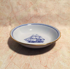 Spode Trade Winds Blue Cereal Bowl W146 Free Shipping