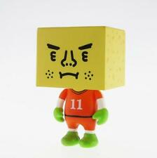 "NETHERLANDS TO-FU WORLD CUP FOOTBALL 2"" DESIGNER VINYL FIGURE TOFU SOCCER"