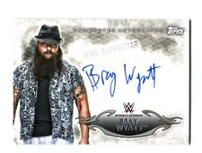 WWE Bray Wyatt 2015 Topps Undisputed Authentic On Card Autograph DWC1