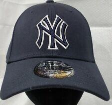 New York Yankees-MLB~New Era~39THIRTY~Genuine Merchandise~Navy & White