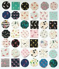 45 FLAMINGO STICKERS-SCRAPBOOKING, FLAMINGOS EMBELLISHMENTS-STICKY PAPER LABELS