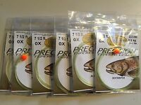 6 Ct. Cortland Precision Tapered Trout 71/2' Nymph Style Indicator Leader 0X