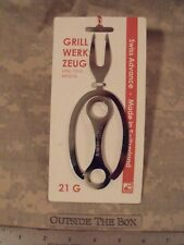 Emergency/Survival: Campfire Grill Tool, Stainless Steel, Swiss Advance (2 PACK)