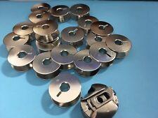 Spulenkapsel mit 20 Spulen Set für Pfaff,  Duerkopp Nähmaschinen # 9076,9033