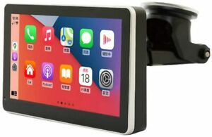 """Coral Vision Portable 7"""" LCD Wired Apple Carplay and Android Smartphone Display"""