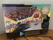F-Zero (SNES Super Nintendo, 1997) Authentic Rare Mint Brand New Sealed