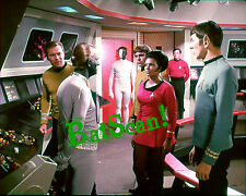 STAR TREK 1969 Original Film Slide AND Color 5x7 Photo #13  Kirk, Spock, Bele ++