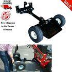 Two Wheel Sulky Lift Latch Mowers Pneumatic Wheels Anti-slip Platform Tread, New